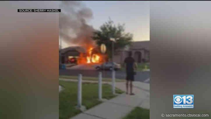 Yuba City Neighborhood 'Traumatized' After High Speed Drivers Repeatedly Crash Into Homes