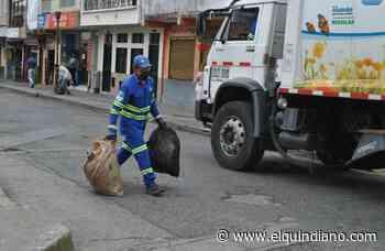 Con leves modificaciones se presta el servicio de aseo en Calarcá mientras el de agua es normal - El Quindiano S.A.S.