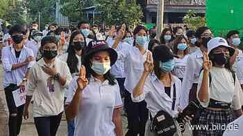 Militärbündnis gegründet: Kommt es in Myanmar jetzt zum Bürgerkrieg? - BILD