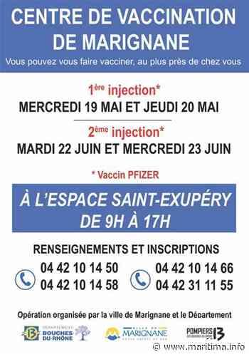 Un centre de vaccination bientôt ouvert à Marignane - Marignane - Coronavirus - Maritima.info
