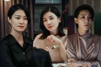 "Lee Bo Young Faces Off With Ok Ja Yeon As Kim Seo Hyung Grows Pensive In ""Mine"" - soompi"