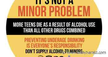 Barrington sticker campaign tackles underage drinking - Chicago Daily Herald