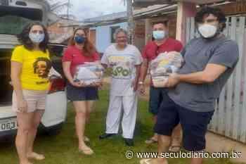 Em Aracruz, entidades fazem campanha contra a fome e por #ForaBolsonaro - Século Diário