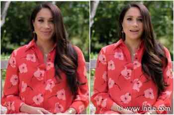 Meghan Markle in Rs 1.23 Lakh Shirt Dress Nails Maternity Fashion | See PICS - India.com