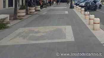 Parma: nuovi marciapiedi realizzati nel quartiere Cittadella - il Resto del Carlino