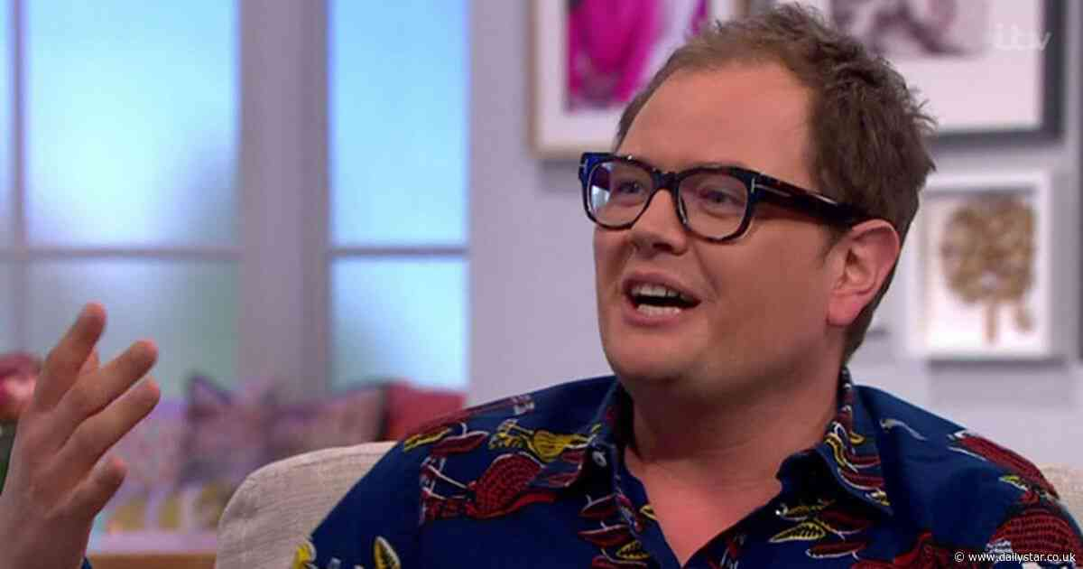 Alan Carr taken aback after Adele suggested he stay at 'weird' hotel instead of her house - Daily Star