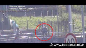 Las cámaras del COT evitaron un intento de suicidio en Ricardo Rojas - InfoBan