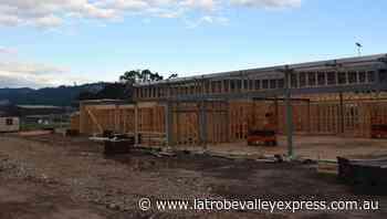 Trafalgar pavilion starting to take shape - Latrobe Valley Express