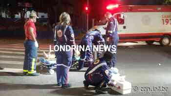 Motociclista fica ferido em acidente na Vila Nova, em Londrina - CGN