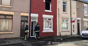 UPDATES: Police remain at scene of terraced house fire
