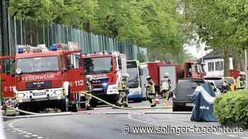 Borbet: Chemiebehälter drohte zu platzen - Erste Entwarnung