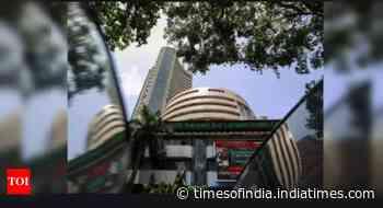 Sensex tumbles 341 pts on weak global cues, Nifty ends below 14,900