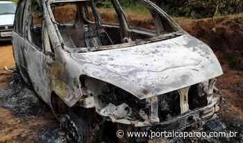 Carro é furtado em Santo Amaro e queimado em Vilanova - Portal Caparaó