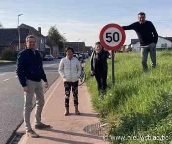 Voortaan 50 km/u in Meerdegatstraat (Alken) - Het Nieuwsblad