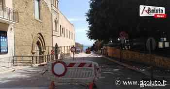 Si riapre al transito via Agatocle a Sciacca, giovedì i lavori all'ex convento San Francesco - Risoluto