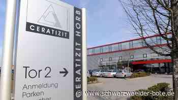 Nach Einigung - Ceratizit Empfingen baut 104 statt 125 Arbeitsplätze ab - Schwarzwälder Bote