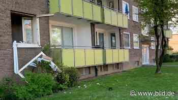 Grevenbroich: Fettexplosion reißt Küchenfenster aus Wohnhaus - BILD