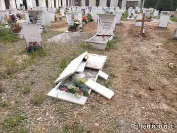 Tombe sprofondate ed erba: la situazione del cimitero di Spinetta Marengo - Radio Gold