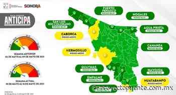 Hermosillo, Caborca y Huatabampo siguen en amarillo en Mapa Sonora Anticipa; aunque el estado cambió a verde se deben cumplir protocolos sanitarios - Proyecto Puente