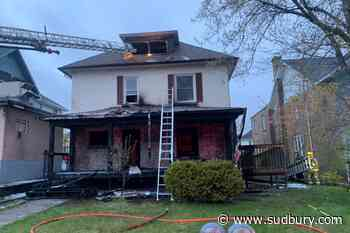 Updated: Elm St. fully reopened as early morning fire deemed suspicious