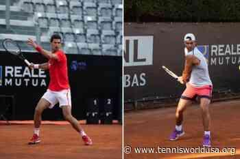 Rafael Nadal and Novak Djokovic meet in Rome - Tennis World USA