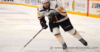 Opportunity to grow: Cape Breton Eagles' MacDonald thriving after trade from Shawinigan   Cape Breton Post - Cape Breton Post