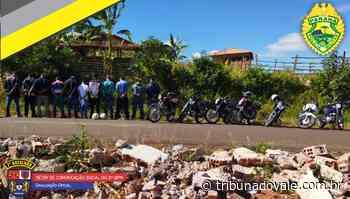 Operação da PM em Siqueira Campos apreende motocicletas - Tribuna do Vale