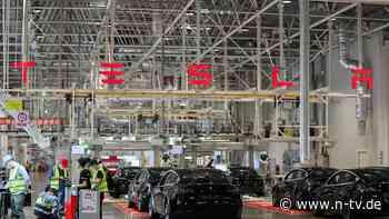 Standort an Kapazitätsgrenze: Expansion von Teslas China-Werk vom Tisch