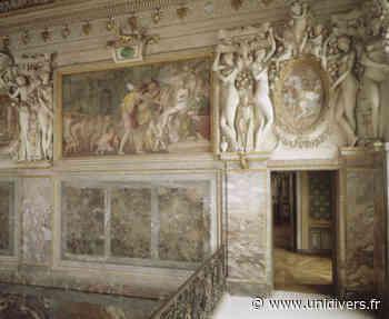 Découverte de la chambre de la duchesse d'Etampes Château de Fontainebleau,Quartier Henri IV vendredi 4 juin 2021 - Unidivers