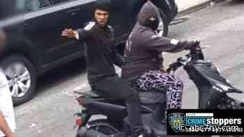 Video shows violent attempt to take man's moped in Mount Hope, Bronx - WABC-TV
