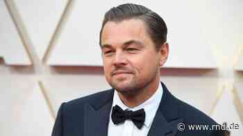 Drehstart für neuen Thriller: Leonardo DiCaprio postet Foto vom Filmset - RND
