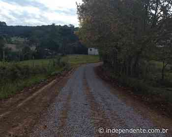 Vespasiano Corrêa recupera 10 quilômetros de estradas no interior - independente