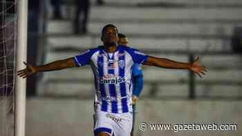 """Herói no jogo de ida das semifinais do Alagoano, Iury Castilho afirma: """"A gente tem que jogar pra vencer sempre"""" - Gazetaweb.com"""