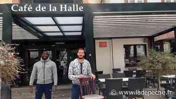 Réouverture des terrasses : au Café de La Halle à Pamiers, le compte-à-rebours a débuté - ladepeche.fr