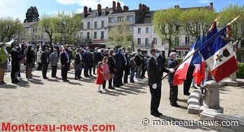 Montceau-les-Mines : Commémoration de la victoire du 8 mai - Montceau News