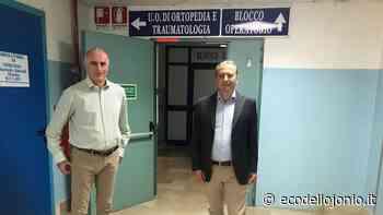 A Castrovillari torna operativa la sala operatoria di Ortopedia | EcodelloJonio.it - Ecodellojonio