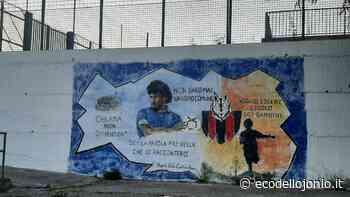 A Castrovillari lo stadio ha un murale che sa di sogno e di storia | EcodelloJonio.it - Ecodellojonio
