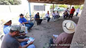 Pescadores y habitantes de Palmito del Verde se suman al proyecto de Fernanda Oceguera - Noroeste
