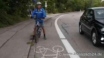 Parkplätze weichen den Radlern: Adlergebirgsstraße in Waldkraiburg soll sicherer werden