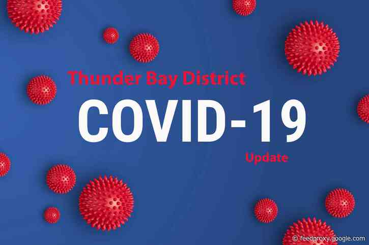 Thunder Bay District Health Unit – NO NEW COVID-19 Cases in District