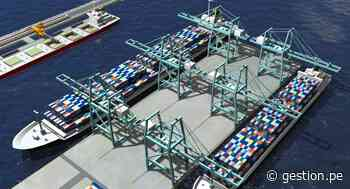 Así avanzan las obras del Terminal Multipropósito Portuario de Chancay - Diario Gestión