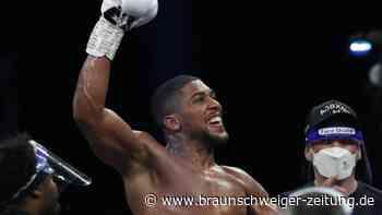 Schwergewichte: Box-Promoter bestätigt WM-Fight Joshua gegen Fury