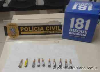 Polícia Civil: Dipo de Cachoeiro de Itapemirim prende técnico de enfermagem suspeito de desviar medicamento de hospitais - Portal Maratimba