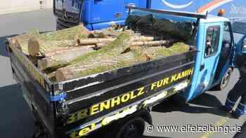 Kontrollen von Holztransporten bei Morbach - ein Fahrer ohne Führerschein unterwegs - Eifel Zeitung