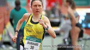 Erfolg in Pliezhausen - Elena Burkard bricht Stadionrekord - Schwarzwälder Bote