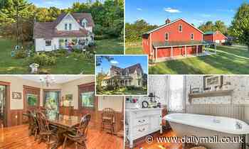 Four bedroom 1880′s Victorian home with blueberry farm on the market for $595,000