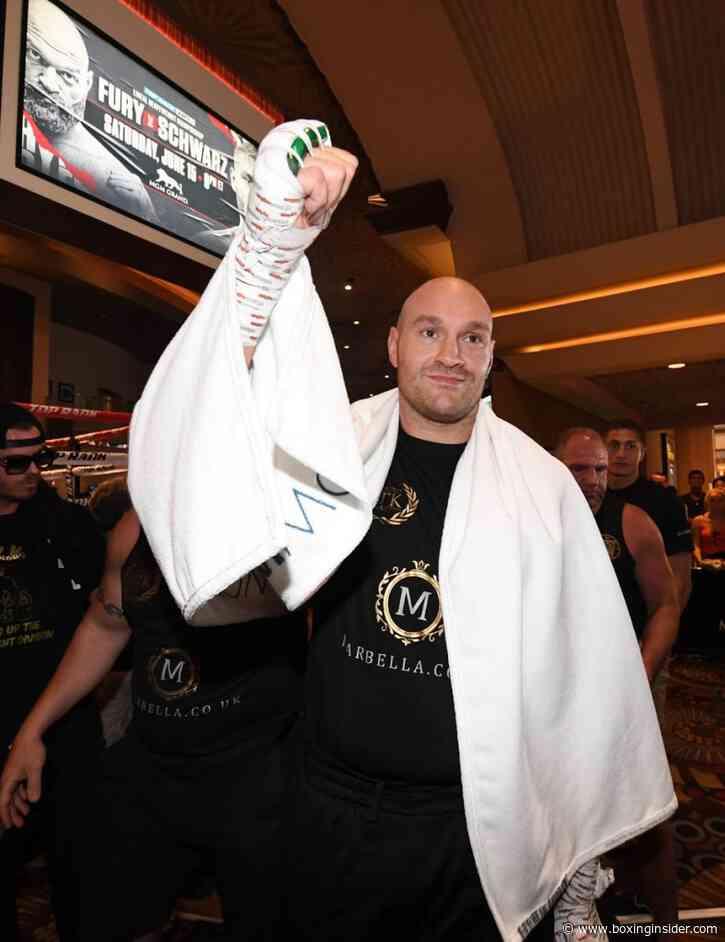 Eddie Hearn: Fury-Joshua Fight To Go Down August 7th or 14th In Saudi Arabia