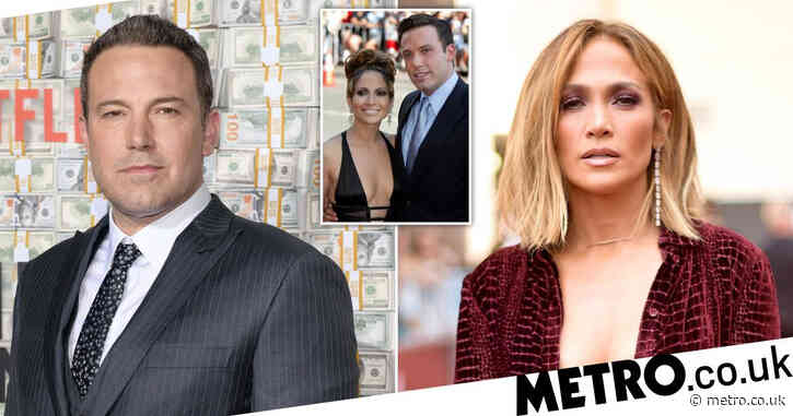 Jennifer Lopez and Ben Affleck have been speaking 'since February via email during Shotgun Wedding shoot'
