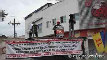 En Puerto Resistencia, el corazón de las protestas en Colombia - Euronews Español