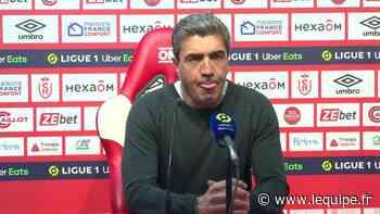 David Guion (Reims) n'a « pas senti de relâchement » face à Monaco - L'Équipe.fr